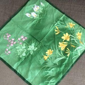 Japanese cotton hand-chief mini scarf bandana wrap